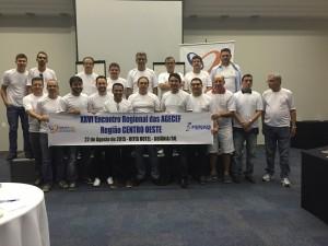 Participantes do evento regional